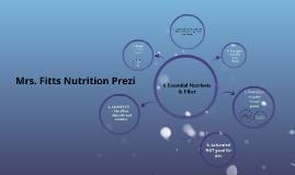 6 Essential Nutrients & Fiber