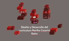 Copy of Diseño y Desarrollo del currículum Martha Casarini Ratto