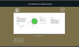 Ejercicio: Ecuación de una circunferencia conociendo su centro y superficie.
