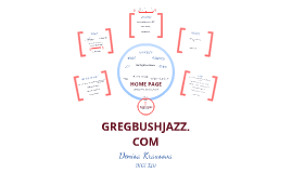 GREG BUSH JAZZ  content map