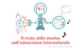 Il ruolo della musica nell'educazione interculturale
