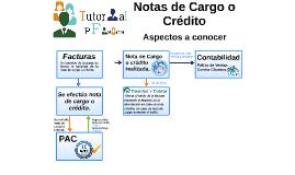 Notas de Cargo o Crédito