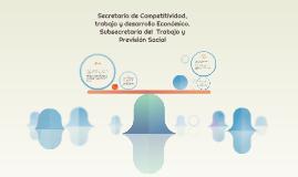 Secretaría de Competitividad, trabajo y desarrollo Económico