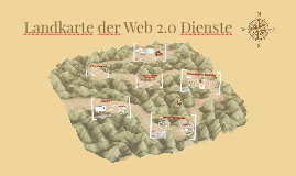 Copy of Landkarte der Web 2.0 Dienste
