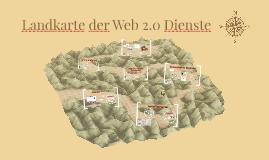 Copy of Landkarte der Web 2.0 Dienste