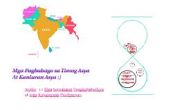 Mga Pagbabago sa Timog Asya