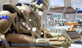 EL AVANCE DE LA TECNOLOGIA ROBOTICA