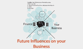 Future Influences on your business