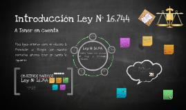 Introducción Ley N° 16.744 Legislación Clase I