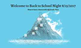 Welcome to Back to School Night 8/13/14