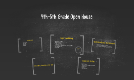 4th-5th Grade Open House