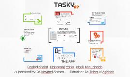 Tasky Senior Project