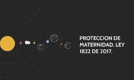 PROTECCION DE MATERNIDAD