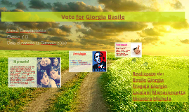 Vote for Giorgia Basile