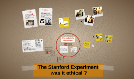The Stanford Experiment
