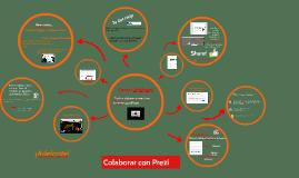 Colaborar el Prezi:  El Proyecto de Hispanohablantes