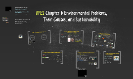 Buford APES Chapter 1: Environmental Problems,