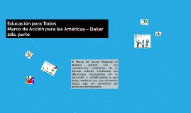 Marco de Acción para las Américas 2da parte