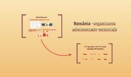 România - organizarea administrativ-teritorială