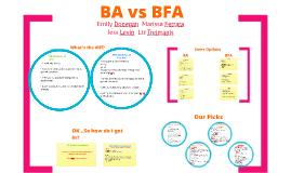 BA/BFA