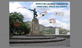 Copy of Indice de calidad ambiental para cali