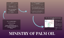 Palm oil is widely used across the globe because it is a cor
