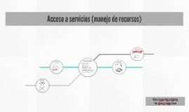 Acceso a servicios (manejo de recursos)