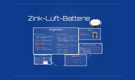 Zink-Luft-Batterie