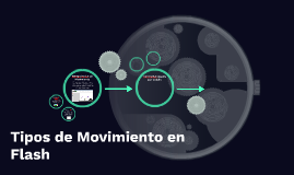 Tipos de Movimiento en Flash