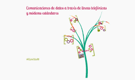 Comunicaciones de datos a través de líneas telefónicas y módems estándares