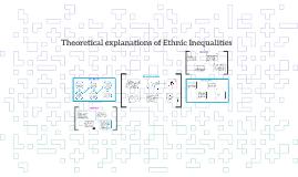 Copy of Theoretical explanations of Ethnic Inequalities