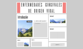 ENFERMEDADES GINGIVALES