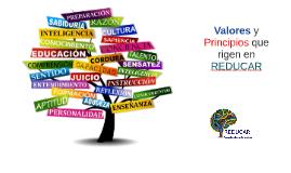 Valores y Principios que rigen en REDUCAR