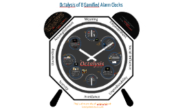 Octalysis of 8 Gamified Alarm Clocks