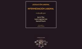 INTERMERDIACÍON LABORAL