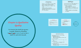 Chapter 11: Qualitative Quality