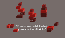 El entorno actual del trabajo y las estructuras flexibles.