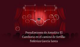 Prendimiento de Antoñito El Camborio en el camino de Sevilla