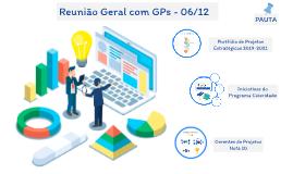 Reunião Geral com GPs