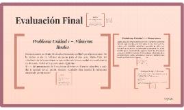 Evaluación Final - Matemática Básica