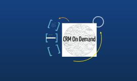 CRM OnDemand