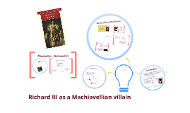 Richard III. as a Machiavellian