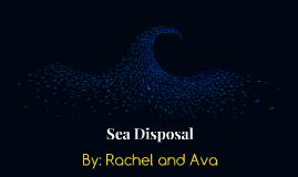 Sea Disposal
