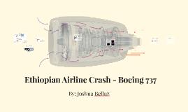 Ethiopian Airline Crash - Boeing 737