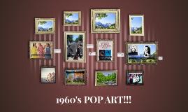 1960's POP ART!!!