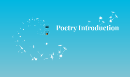 10H Poetry Introduction w Recitations