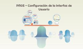 PM05 - Configuración de la Interfaz