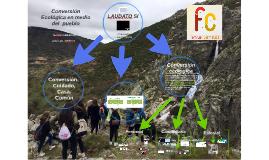 Conversión ecológica en medio del pueblo