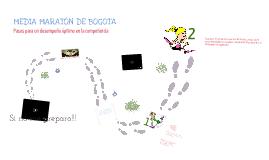 MEDIA MARATON DE BOGOTA