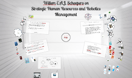 Strategic Human Resources and Robotics Management